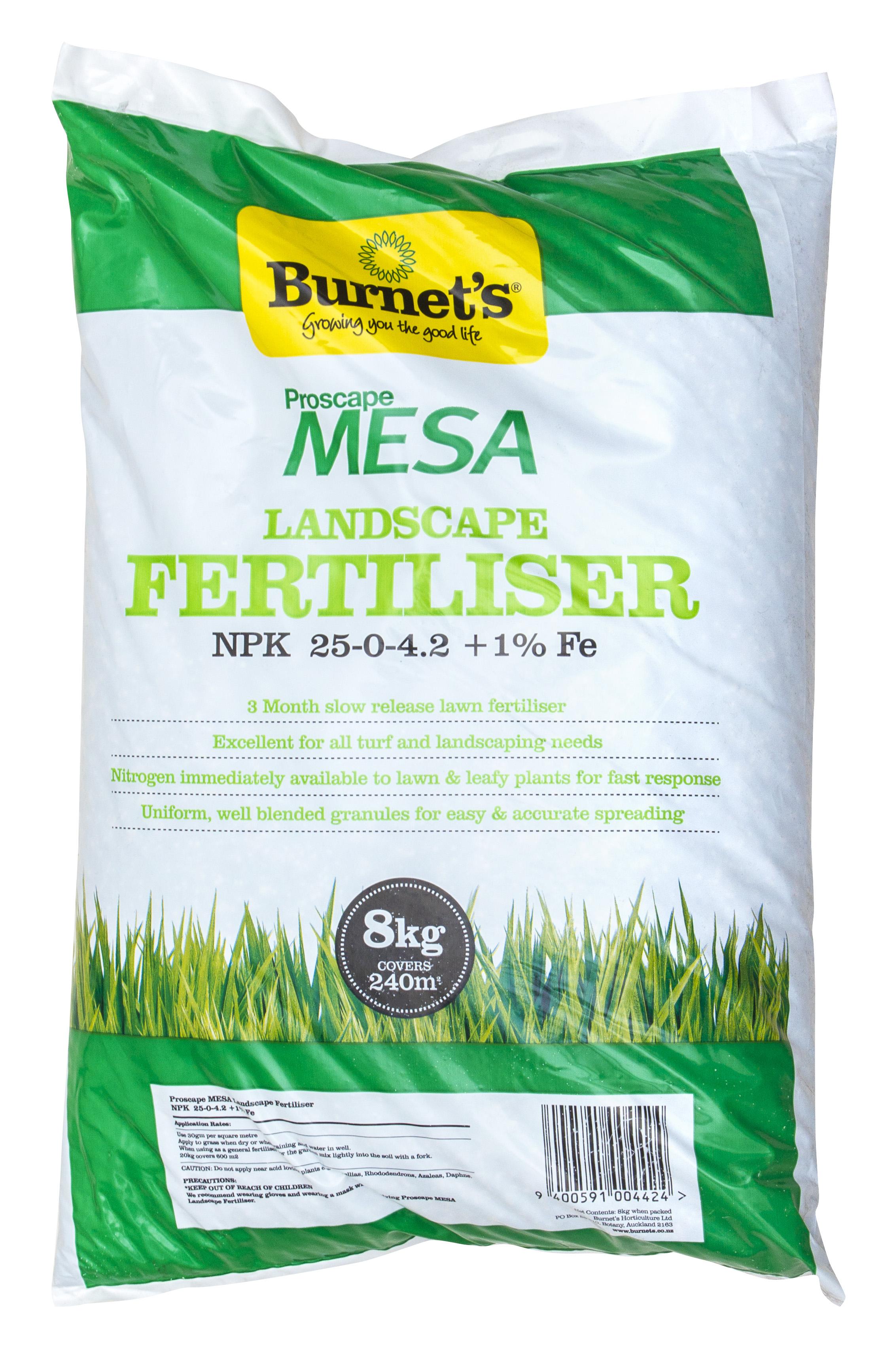 Proscape MESA Landscape Fertiliser U0026 Lawn Food 8kg